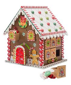 Wooden Gingerbread House Countdown to Christmas Advent Calendar x 8 x H: Toys & Games home decor xmas decorations gift ideas Wooden Advent Calendar, Advent Calendars For Kids, Christmas Countdown Calendar, Kids Calendar, Gingerbread House Designs, Christmas Gingerbread House, Gingerbread Houses, Days To Christmas, Christmas Tables