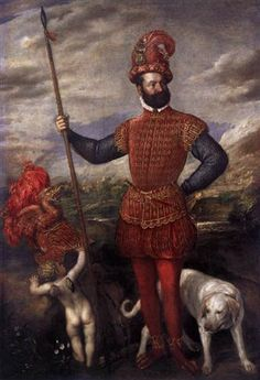 Man in Military Costume - Titian