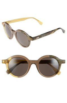 $395 Fendi 48mm Sunglasses available at #Nordstrom