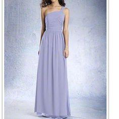 edd0ab067d1 Alfred Angelo Bridesmaid Prom Dress Size 6 One Shoulder Bridesmaid Dresses