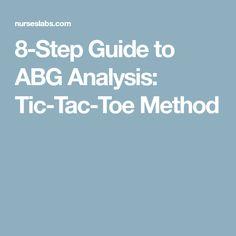 8-Step Guide to ABG Analysis: Tic-Tac-Toe Method
