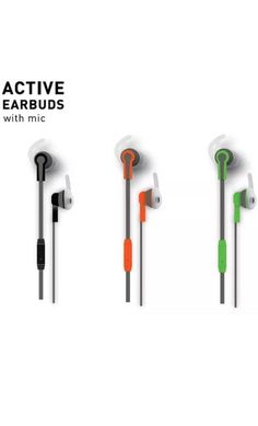 8a8ddffe60 Details about Sports Fitness Earbuds With Mic Different Colors Great For  Workout