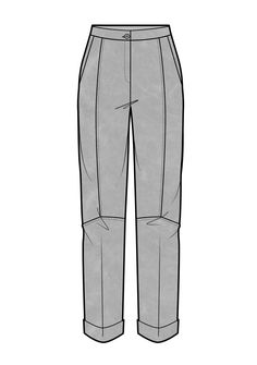 Leather trousers Flat Drawings, Flat Sketches, Pants Drawing, Drawing Clothes, Clothing Sketches, Dress Sketches, Fashion Vector, Technical Drawing, Adrien Y Marinette