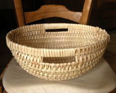 Tutorial -how to weave a round basket
