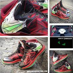 sports shoes d83fe eb80c Lebron Spawn kiks