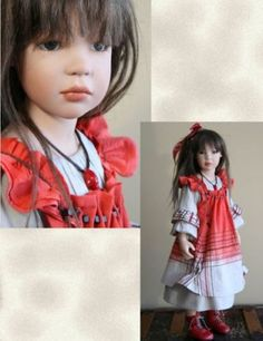 great site for imaginary, creative images this photo listed as a handmade doll