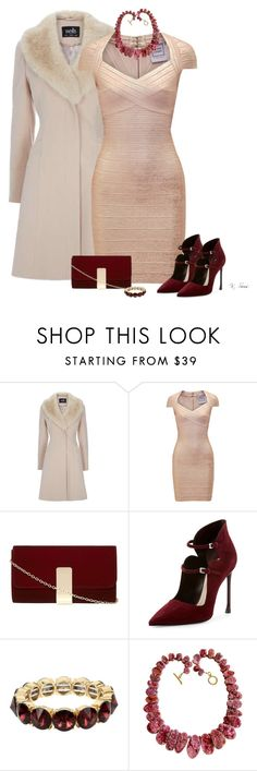 """Bon appetit"" by ksims-1 ❤ liked on Polyvore featuring Hervé Léger, Dorothy Perkins, Christian Dior and Kenneth Cole"