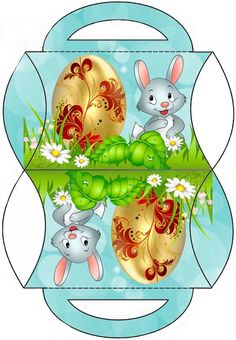 Cute Easter pillow box by JB