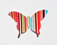 Butterfly Applique Pattern, PDF Template, Applique Designs, Girl, Baby