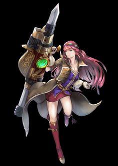 Aileen - Final Fantasy Brave Exvius by FleetingThunderBlade.deviantart.com on @DeviantArt