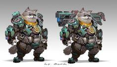 ArtStation - please do not treat me as a cat., Rock D