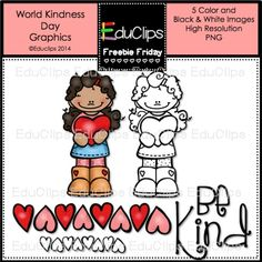 Free clipart piece - World Kindness Day