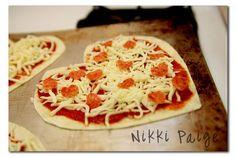 Valentine's Day Pizza