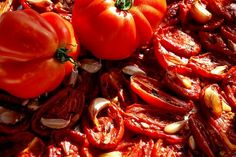 home made dried tomatoes