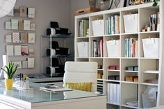 The wonderful studio of Amanda Wright from www.witandwhistle.com.  She lives in Cary, NC... not too far from where I grew up!