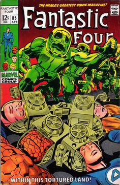 Fantastic Four 85 - Stan Lee and Jack Kirby