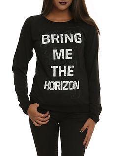 Bring Me The Horizon Logo Girls Pullover Top | Hot Topic