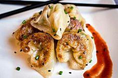Asian Bacon Mac n Cheese Wontons Www.nospoonnecessary.com