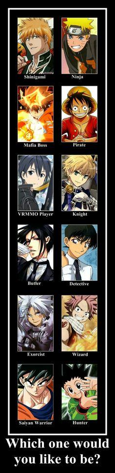 Ninja and pirate xD you? <<< Wizard/Shinigami, and you?<<<<<Wizard or if not that, Shinigami I Love Anime, Awesome Anime, All Anime, Anime Guys, Manga Anime, Anime Art, Otaku, Shinigami, Vocaloid