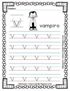 Libro de grafomotricidad todas las letras en trazos