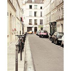 Paris Home Decor - Paris Street- Urban Paris, Neutral Tone... ($22) ❤ liked on Polyvore