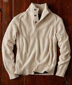 Effortlessly Cool Men's Sweaters - Headlands Sweater - Carbon2Cobalt