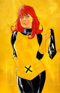 Marvel Girl by Phil Noto