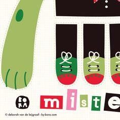 Mister Zombie fabric by bora on Spoonflower - custom fabric