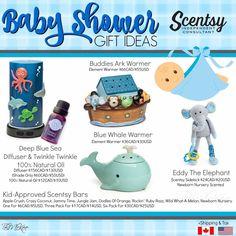 Scentsy baby shower gift ideas. Baby boy.