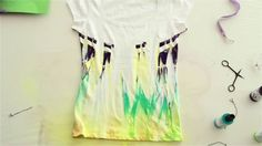 "171950/171500 Marabu Fashion-Spray - Tutorial ""Coole T-Shirts im angesag..."