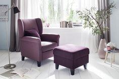 """Elegantní pohodlné samostatné křeslo """"ušák"""", vhodné i jako doplněk k sedacím soupravám Malta, Accent Chairs, Armchair, Furniture, Home Decor, Upholstered Chairs, Sofa Chair, Malt Beer, Single Sofa"""