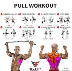 Fitness Workout For Beginners – Burn Fat & Build Muscle Anywhere Pull Day Workout, Month Workout Challenge, Gym Workout Tips, Workout Schedule, Fun Workouts, At Home Workouts, Bodybuilding Training, Bodybuilding Workouts, Fitness Herausforderungen