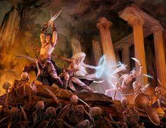 Mythic Heroes by DenmanRooke