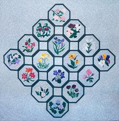 The flowers - The story of the Provincial Wildflower Quilt