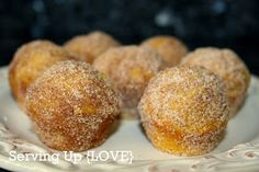 Pumpkin Doughnut Muffins - they melt in your mouth