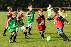 Kids playing soccer | Image source: Littlesportscoaching.co.uk