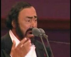 """Italian music. Pavarotti sings """"caruso"""" live in paris. this performance gave me the chills. speechless...."""