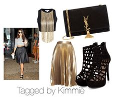 """""""Gold Member!!!!"""" by taggedbykimmie15 on Polyvore featuring A.L.C. and Yves Saint Laurent"""