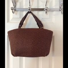 Selling this   Fossil Brown Tote Bag in my Poshmark closet! My username is: saccardi. #shopmycloset #poshmark #fashion #shopping #style #forsale #Fossil #Handbags