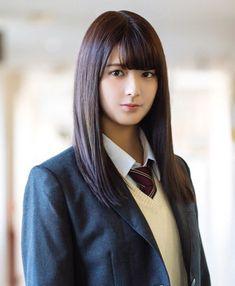 関有美子 School Girl Japan, Japan Girl, Cute Asian Girls, Beautiful Asian Girls, Cute Girls, Innocent Girl, Aesthetic Women, Goth Beauty, Cute Japanese Girl