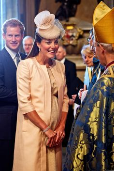Kate Middleton attends a service of celebration to mark the 60th anniversary of the Coronation Queen Elizabeth II at Westminster Abbey on June 4, 2013 in London, England.
