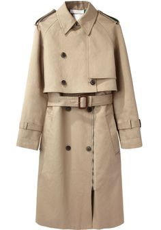 Not particularly looking to buy a trench, but this 3.1 Phillip Lim one can be worn so many ways that I wish I WAS looking to buy one.