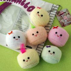 Bag Full-O-Marshmallows - Scrumptious Delight. So cute. So happy.
