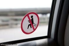 No Farting sign.