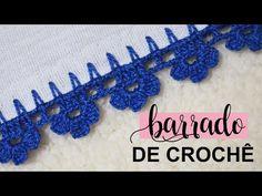 Crochet Edging Patterns, Crochet Designs, Yarn Crafts, Diy And Crafts, Kutch Work Designs, Crochet Circles, Crochet Tablecloth, Crochet Videos, Crochet Necklace