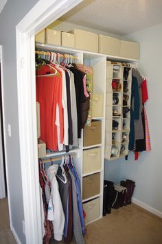 Build Your Own Closet with only a Drill