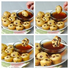 Mini Chocolate Chip Pancake Muffins Recipe...Awesome idea for Christmas Brunch, must do!