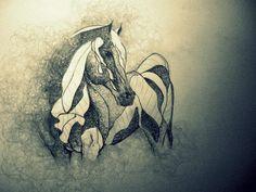 zdzisław beksiński horse - Google Search
