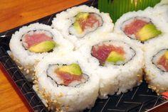 Spicy Tuna Sushi Roll Recipe | DIYFood