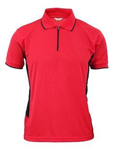 BCPOLO Casual Sporty Design Polo T-shirt Men comfortable Functional Sportswear-red XS BCPOLO http://www.amazon.com/dp/B00S5PXDZQ/ref=cm_sw_r_pi_dp_vrv7ub1TFMDWX